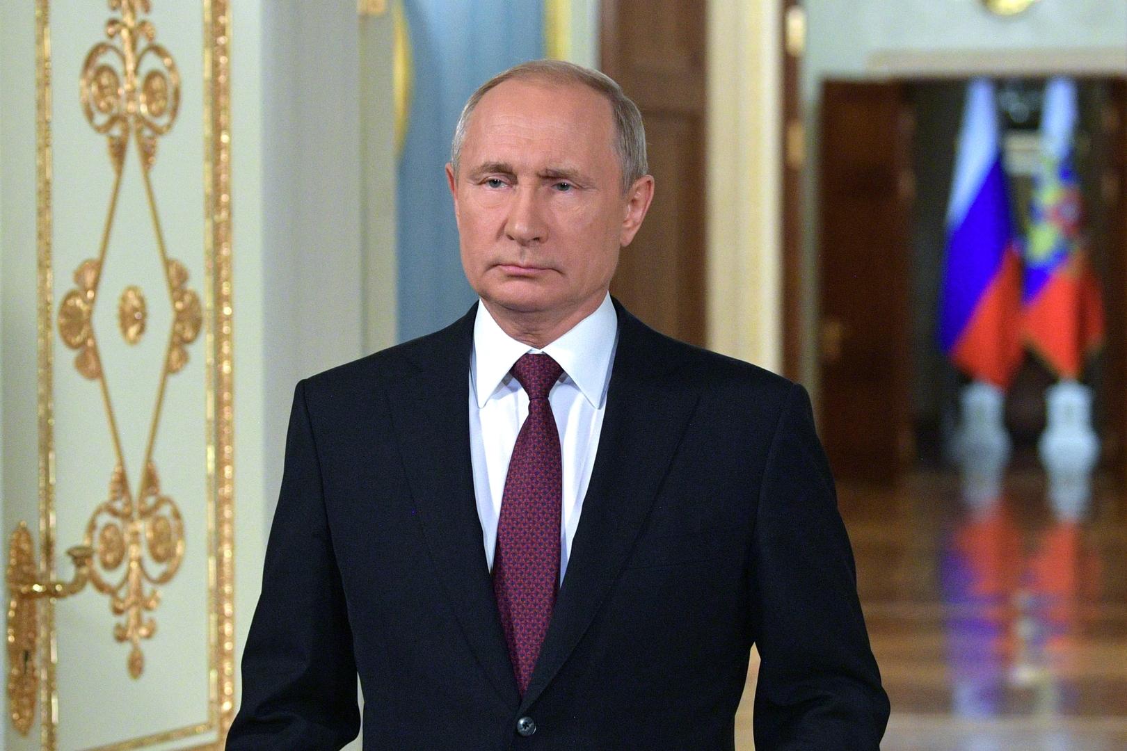 بوتين يقترح فرض ضريبة على العائدات والأرباح الذاهبة إلى