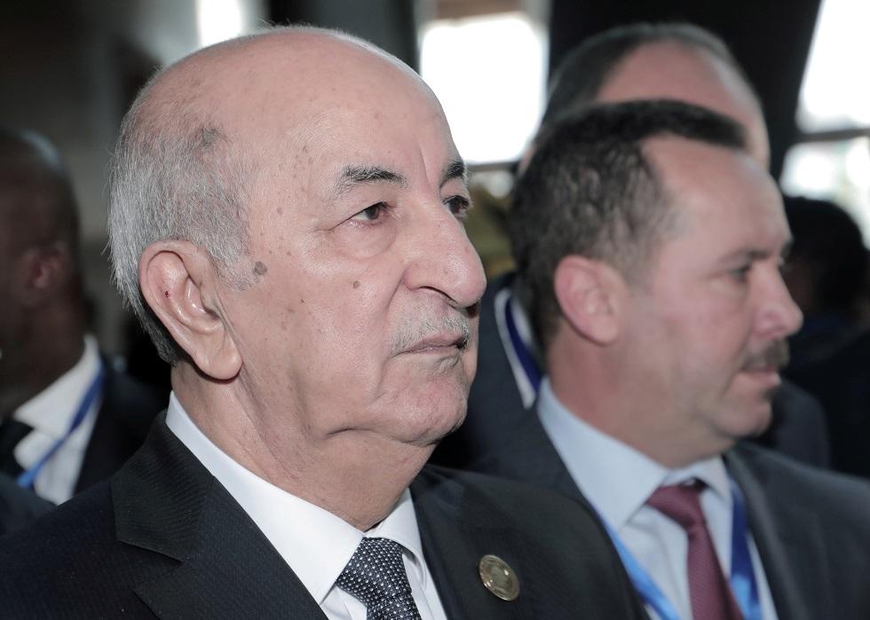 الرئيس الجزائري يغرد مواسيا سكان مدينة البليدة الخاضعة للحجر الصحي