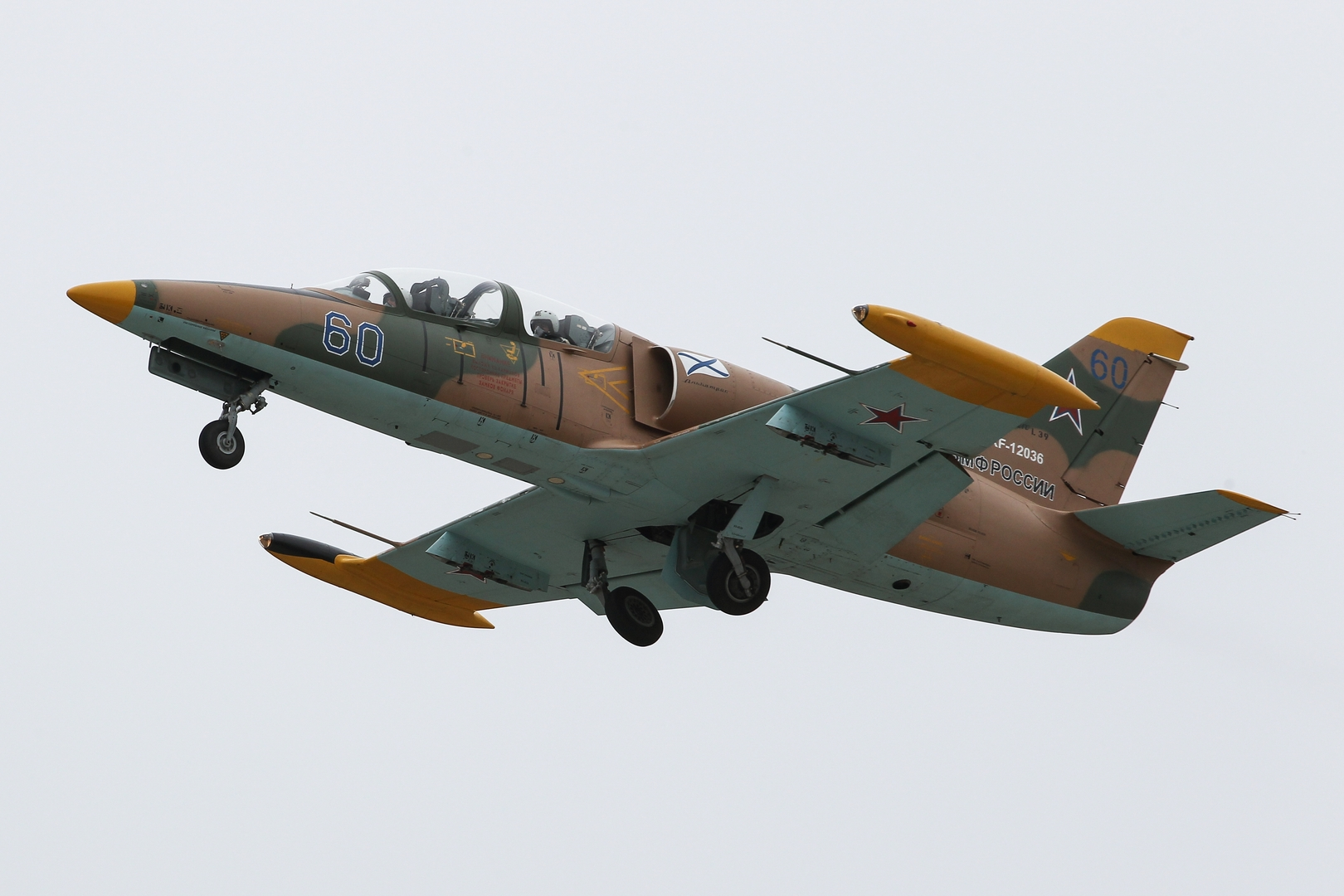طائرة من نوع L-39 (صورة من الأرشيف)