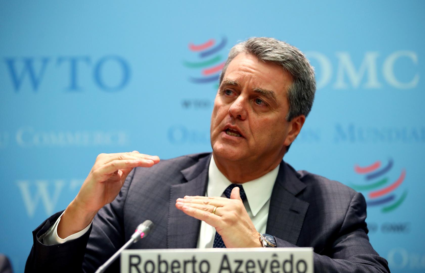 منظمة التجارة العالمية: التبعات الاقتصادية لجائحة فيروس كورونا ستكون أكبر من تداعيات أزمة 2008