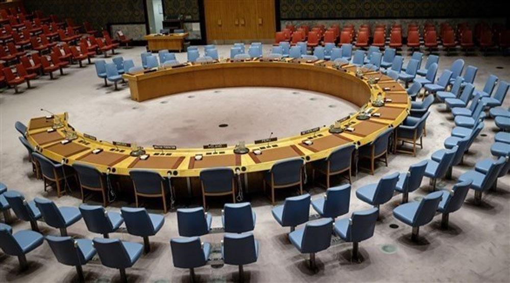 قاعة اجتماعات مجلس الأمن في نيويورك