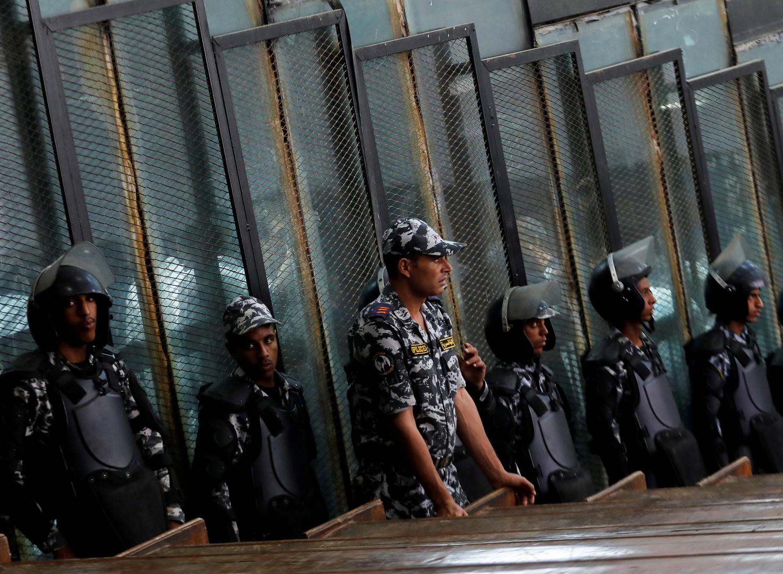 Egypten. Henrettelse af 5 personer på grund af en brand i olieledningen