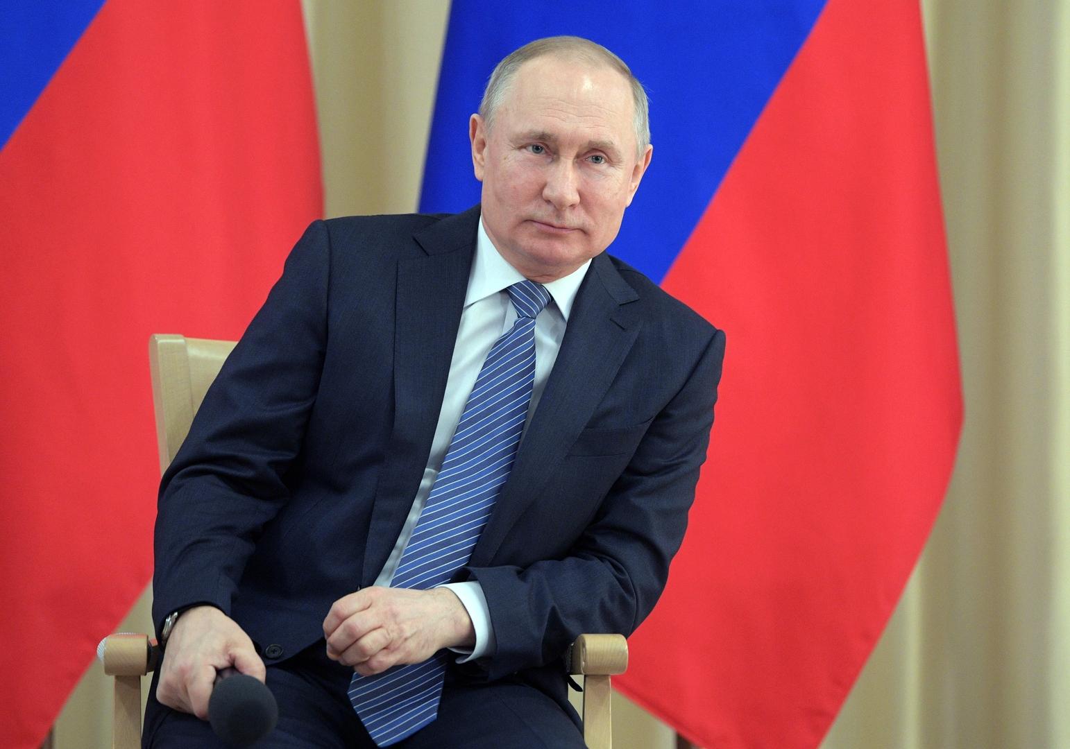 بوتين: نأمل أن تنتهي الحرب ضد كورونا خلال 3 أشهر