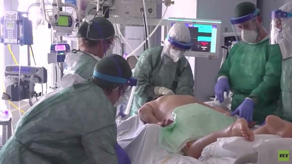 البعثة الطبية الروسية تبدأ عملها ببيرغامو