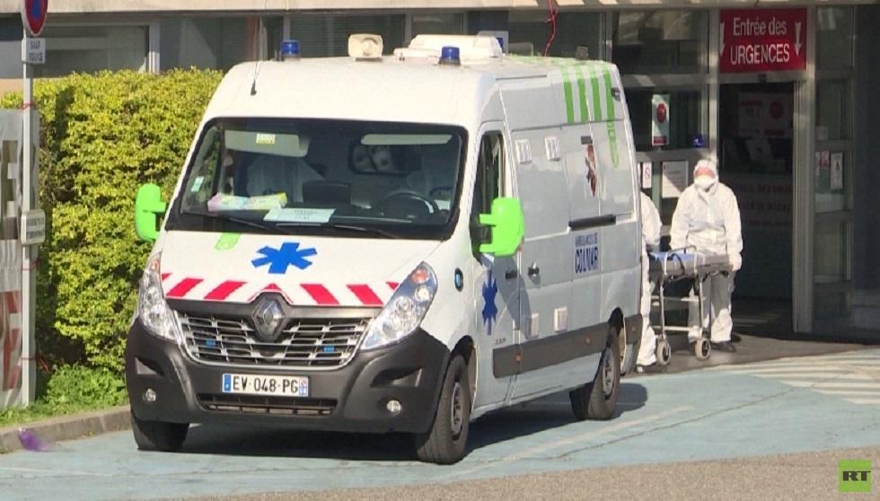 غضب وسط سائقي سيارات الإسعاف في فرنسا بسبب كورونا