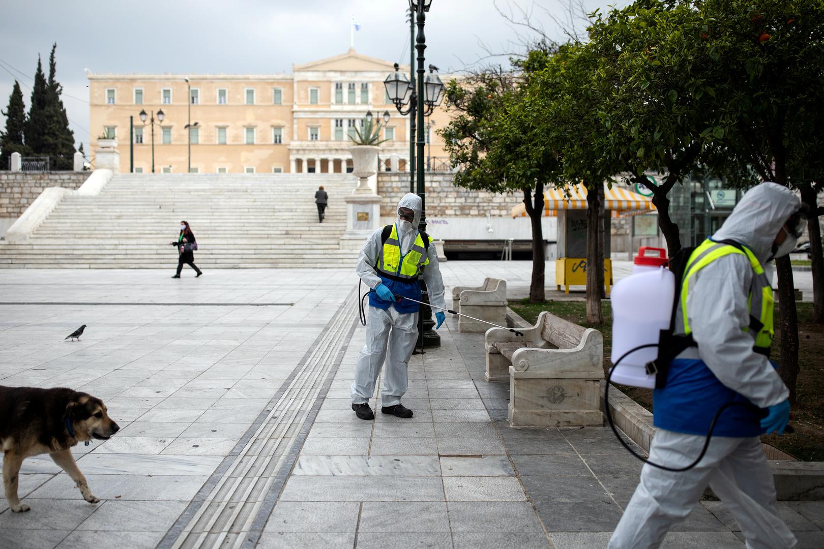 اليونان.. عدد الإصابات بفيروس كورونا يلامس الـ900