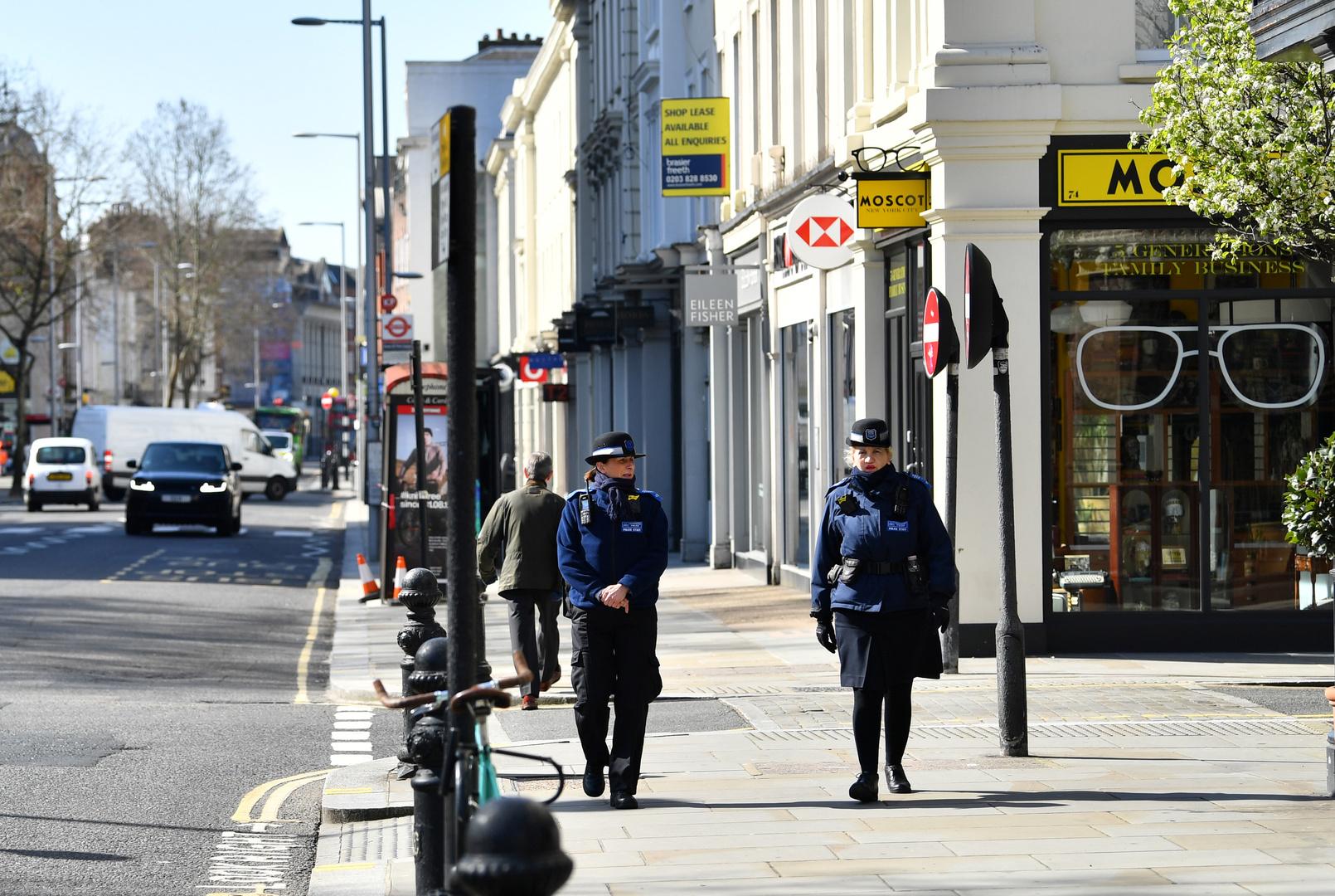 Storbritannien .. Overtrædere af hjemmet står over for arrestation og en bøde