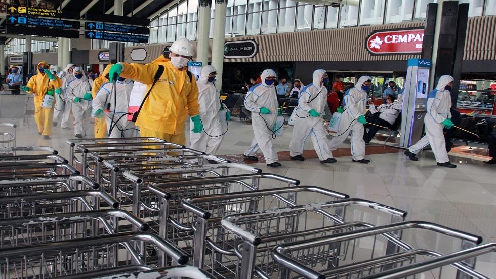 إندونيسيا تسجل أكبر حصيلة يومية للإصابات بفيروس كورونا