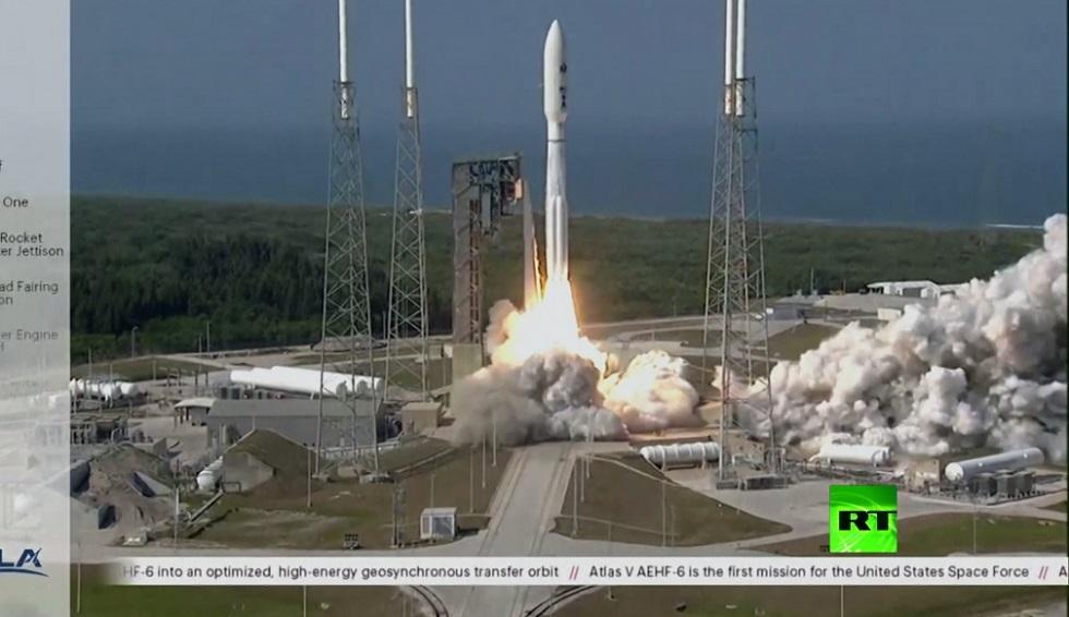 إطلاق أول قمر صناعي للقوات الفضائية للولايات المتحدة