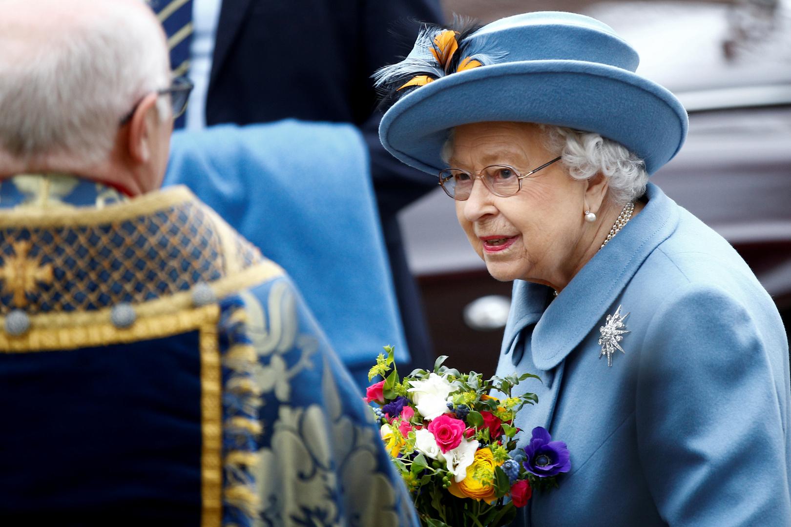 الملكة البريطانية إليزابيث الثانية