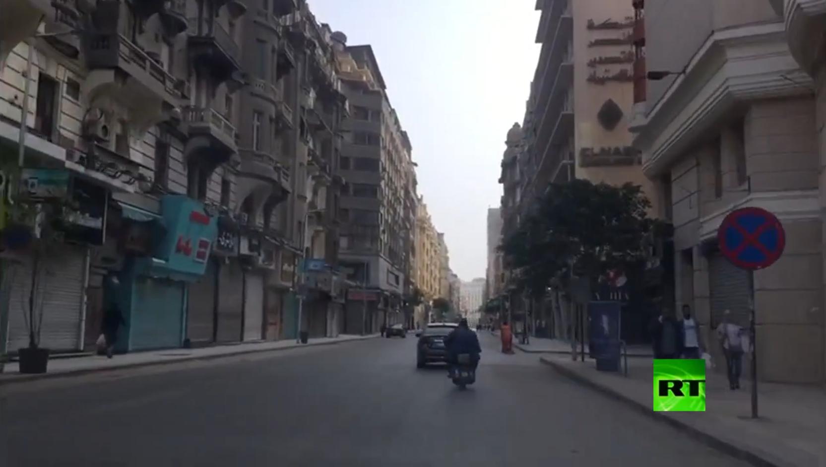 إغلاق تام للمحال و المطاعم في القاهرة