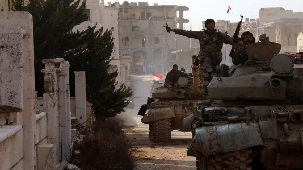 عناصر من الجيس السوري ـ أرشيف