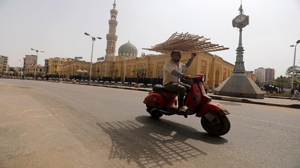 شوارع القاهرة فارغة بسبب كورونا ـ أرشيف
