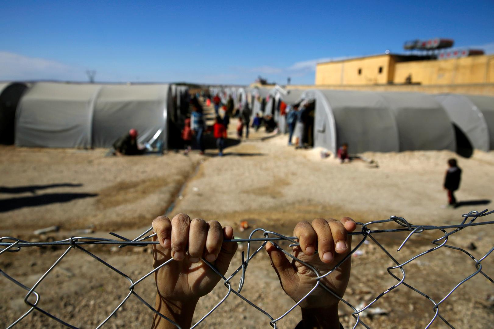 مخيم للاجئين السوريين - صورة أرشيفية