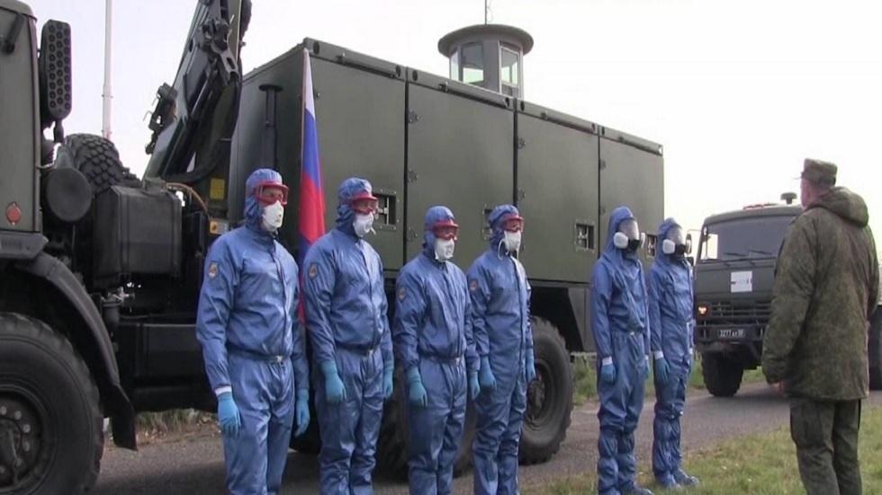 المختصون الروس يحاربون كورونا في إيطاليا