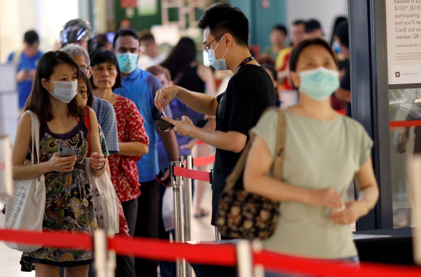 سنغافورة.. ارتفاع عدد الإصابات بكورونا إلى 802