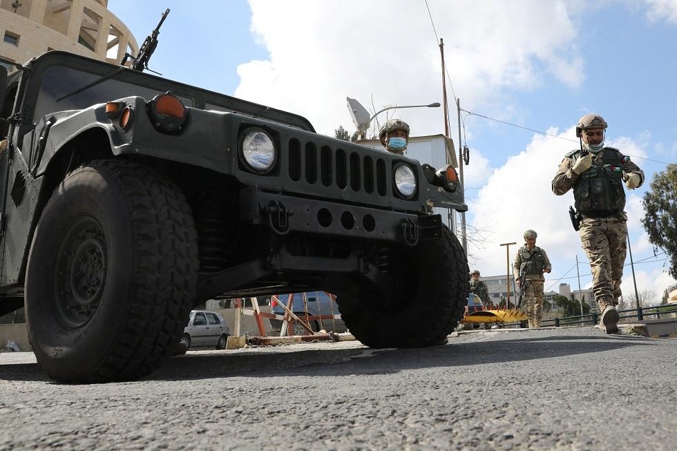 قوات تابعة للجيش الأردني