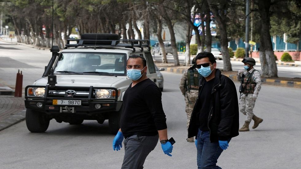 انتشار الجيش الأردني بسبب كورونا