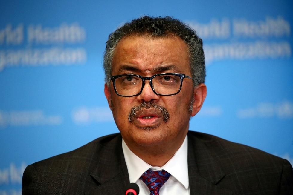 مدير منظمة الصحة العالمية، تيدروس أدهنوم غيبريسوس