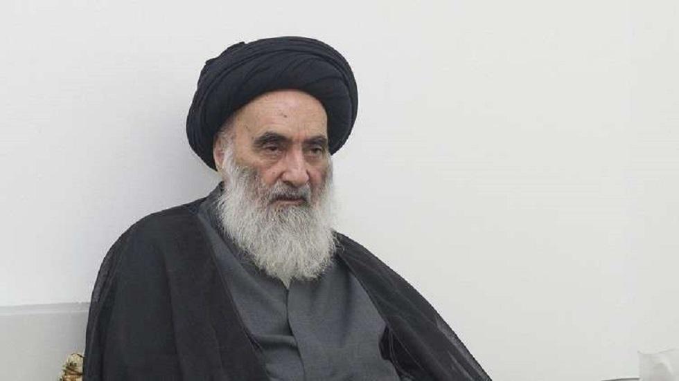 المرجع الديني العراقي آية الله علي السيستاني