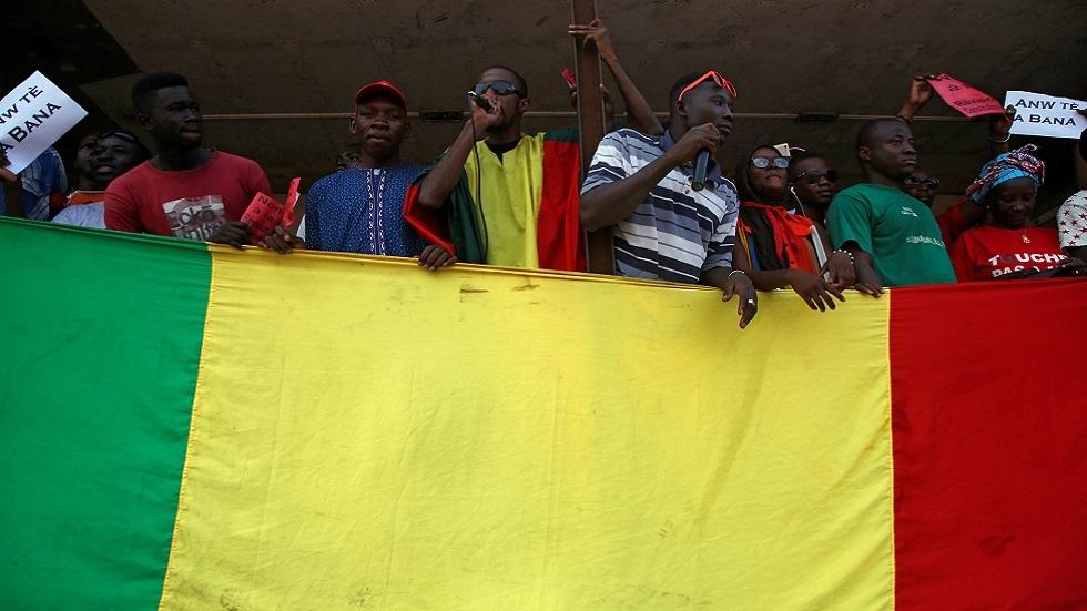 فعالية احتجاجية لأنصار المعارضة في مالي (صورة أرشيفية)