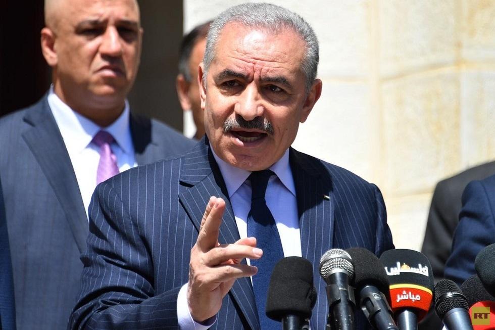 رئيس الحكومة الفلسطينية، محمد اشتيه