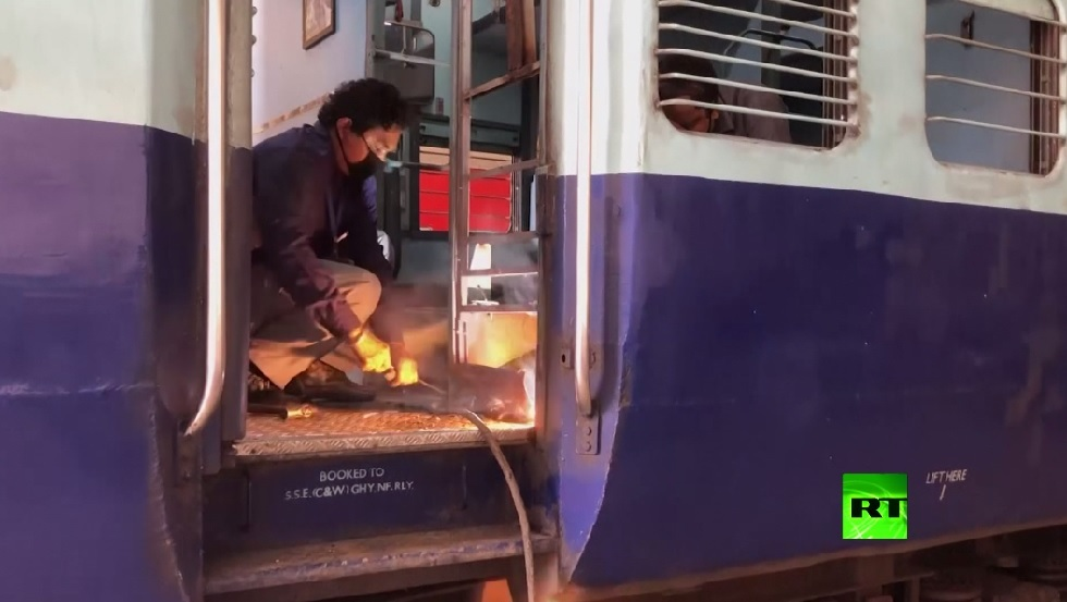 الهند.. تحويل عربات قطارات لعنابر العزل لمصابي كورونا!