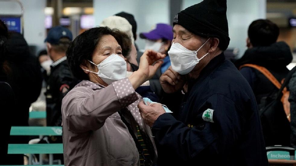كوريا الجنوبية تحجر على القادمين من الخارج أسبوعين