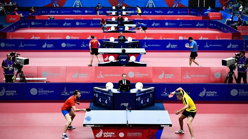 الاتحاد الدولي لكرة الطاولة يمدد تعليق مسابقاته بسبب كورونا