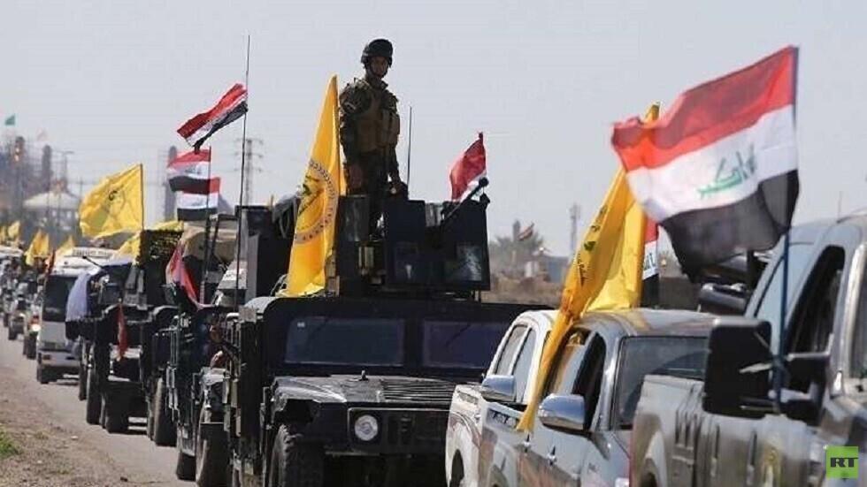 الحشد الشعبي: مجاميع من داعش دخلت العراق بعد هربها من سجن في سوريا