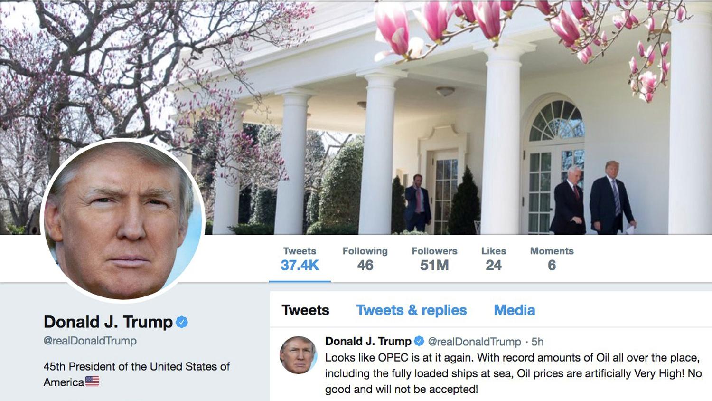 ترامب يخطئ بتغريدته والسعوديون يعلقون!