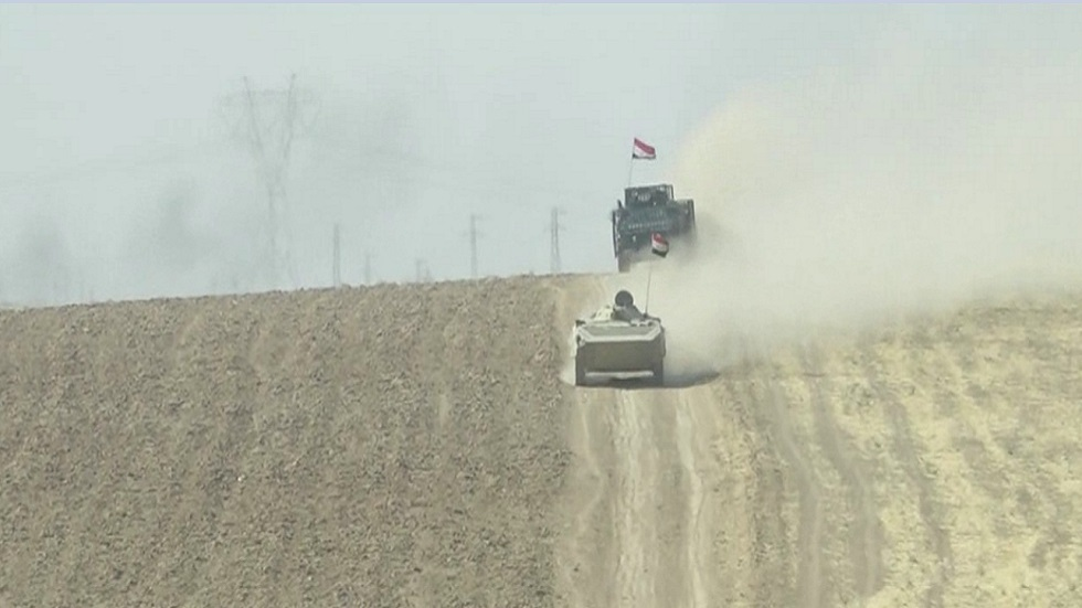 العراق يحذر من استهداف مواقعه العسكرية