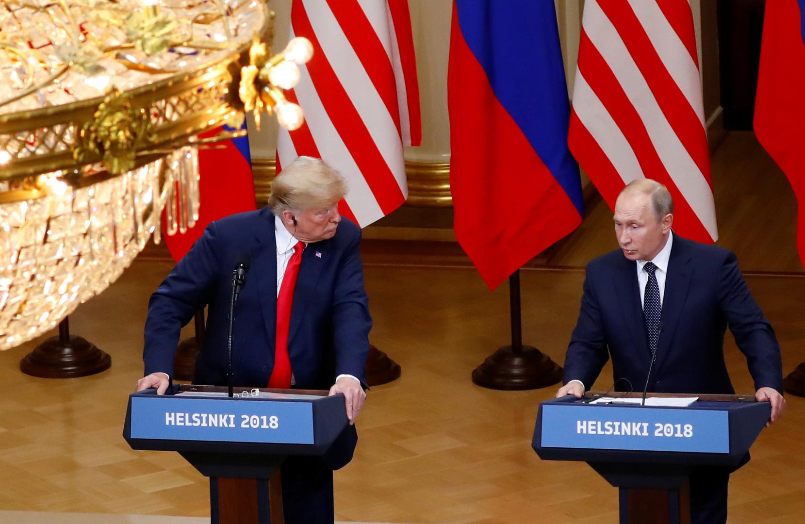 بوتين وترامب يتفقان على مشاورات روسية أمريكية حول أسواق النفط