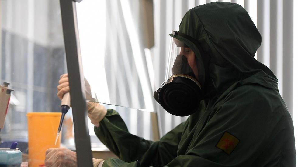 روسيا.. تطوير اختبار عالي الدقة للكشف عن كوفيد-19