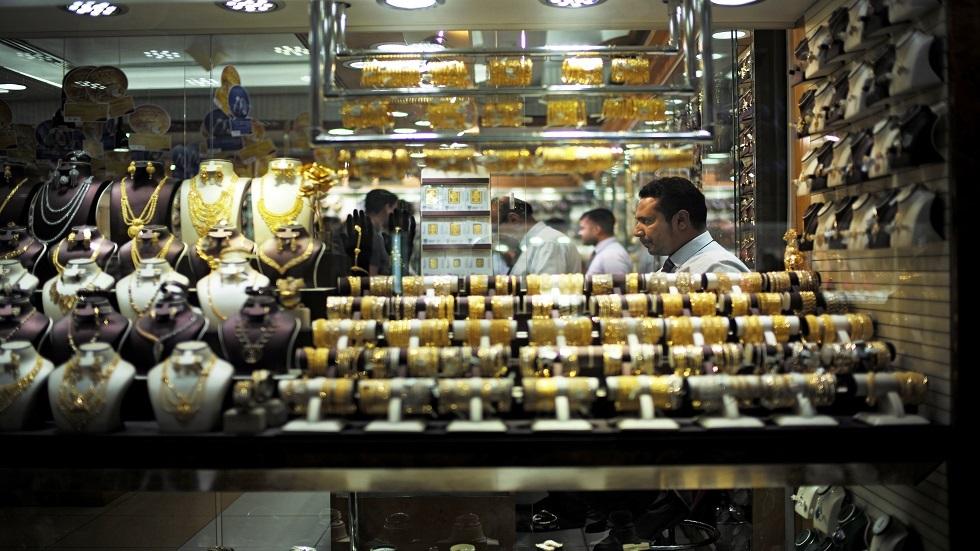 أسواق الذهب في دبي بالإمارات - أرشيف