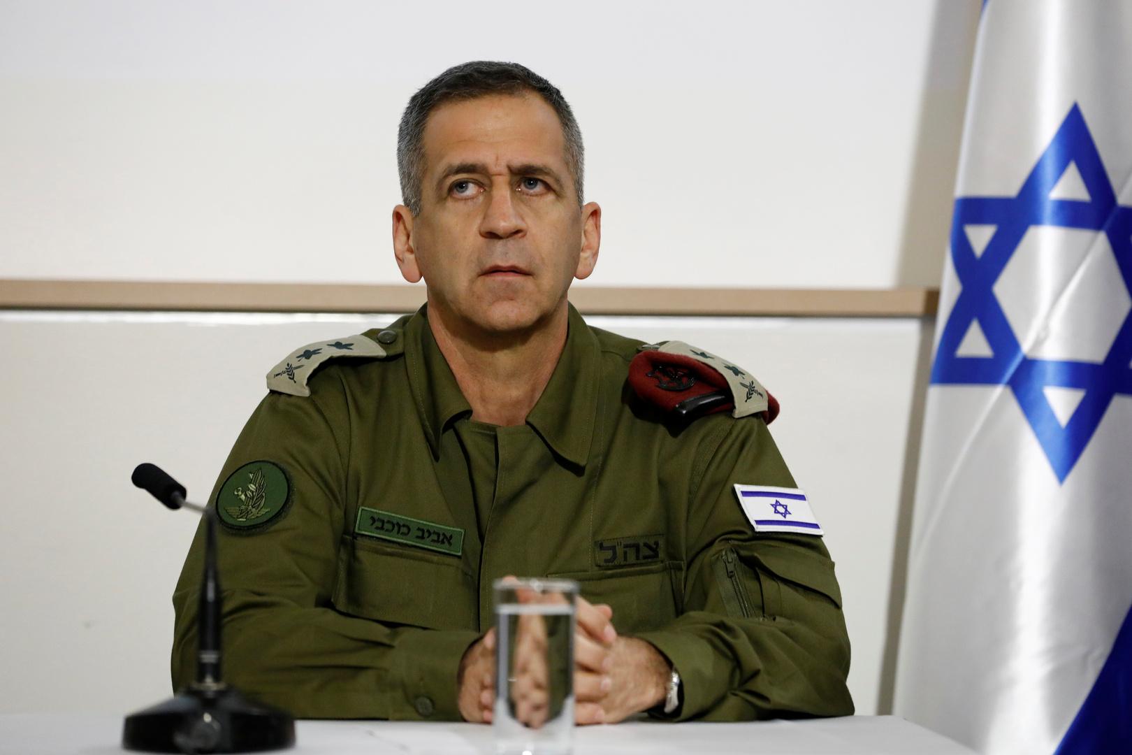 مراسلتنا: رئيس أركان الجيش الإسرائيلي يدخل الحجر الصحي