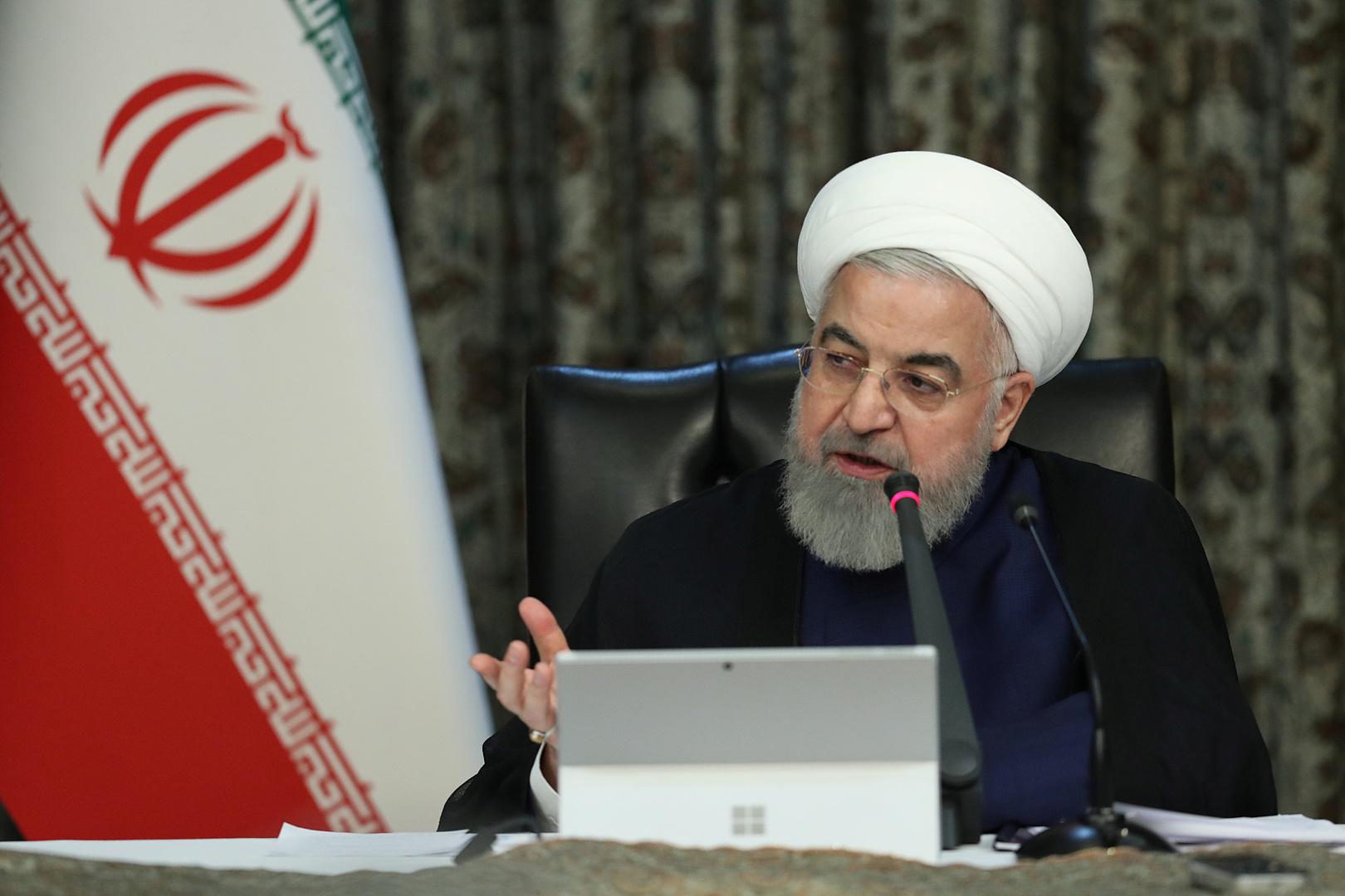 روحاني: الإحصاءات بشأن كورونا تشير إلى تحسن الأوضاع في البلاد