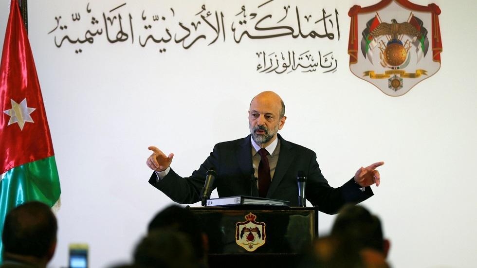 رئيس الوزراء الأردني عمر الرزاز - أرشيف