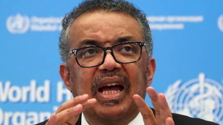المدير العام لمنظمة الصحة العالمية، تيدروس أدهانوم غيبريسوس