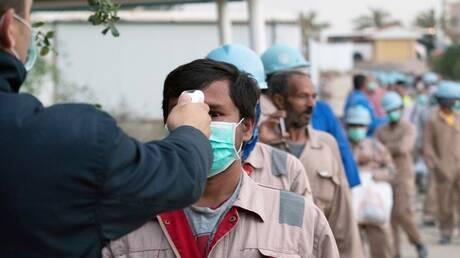 """الشرطة الكويتية تطارد """"كورونا"""" (فيديو)"""