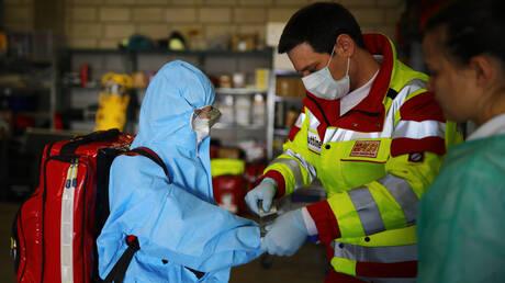 ارتفاع عدد الإصابات بفيروس كورونا في ألمانيا إلى 61913 والوفيات إلى 583