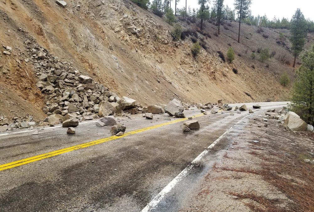 آثار زلزال قوي في ولاية أيداهو الأمريكية