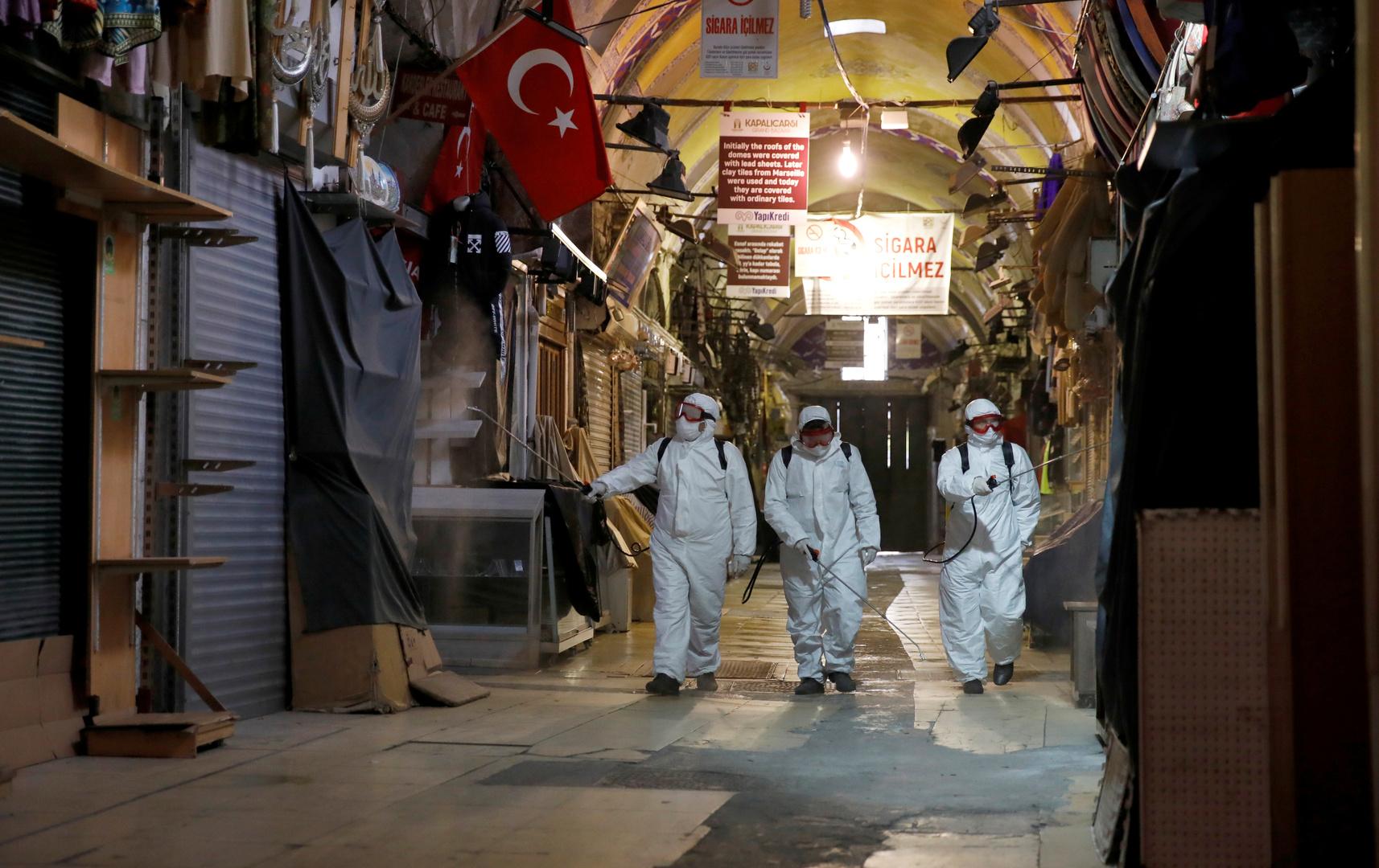 تركيا تفرض حجرا صحيا على 50 بلدة في 21 ولاية
