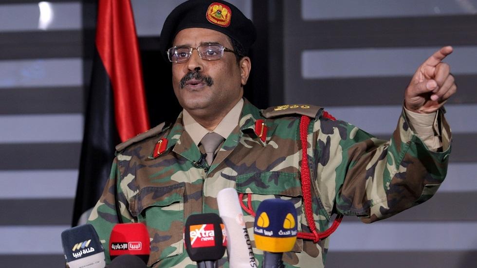 الناطق باسم الجيش الليبي اللواء أحمد المسماري