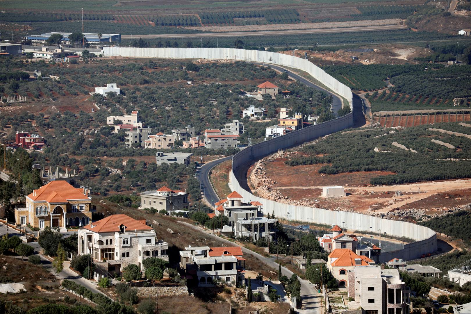 بلدة عديسة الحدودية جنوب لبنان
