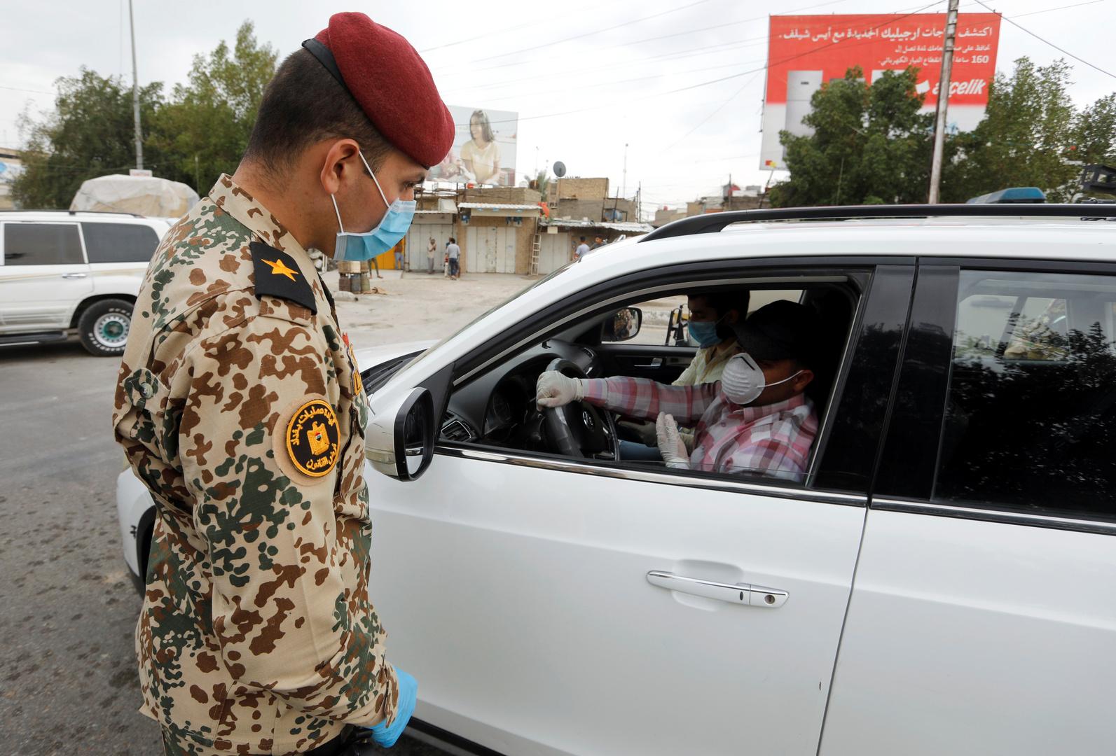 عنصرمن قوات الأمن العراقية