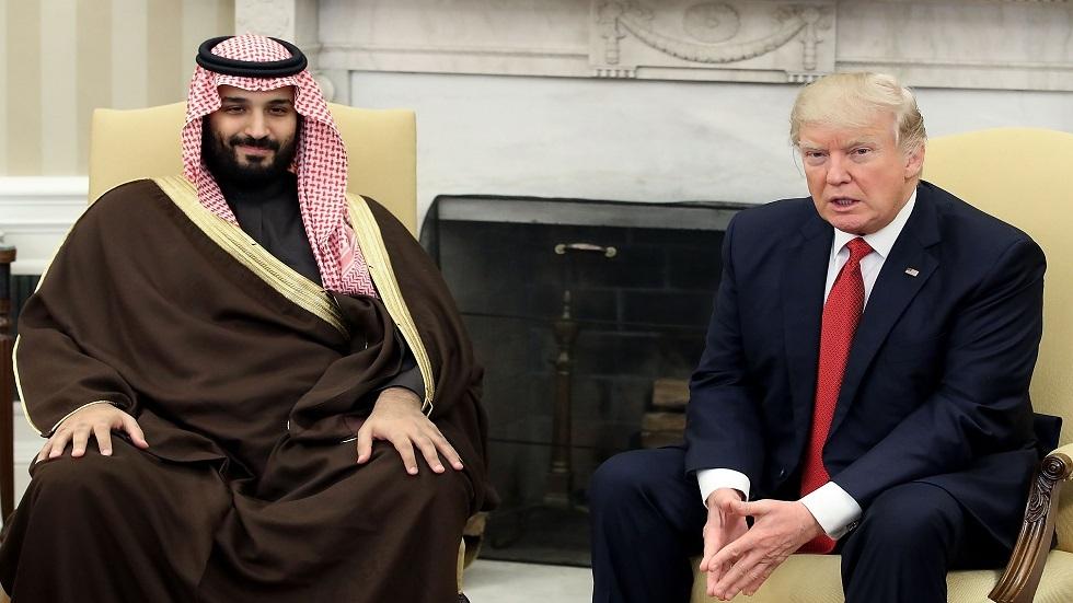 الرئيس الأمريكي/ دونالد ترامب، وولي العهد السعودي/ محمد بن سلمان