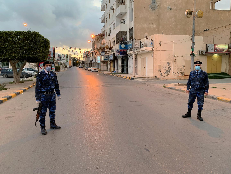 الحرب الليبية يمكن أن توقف الوباء