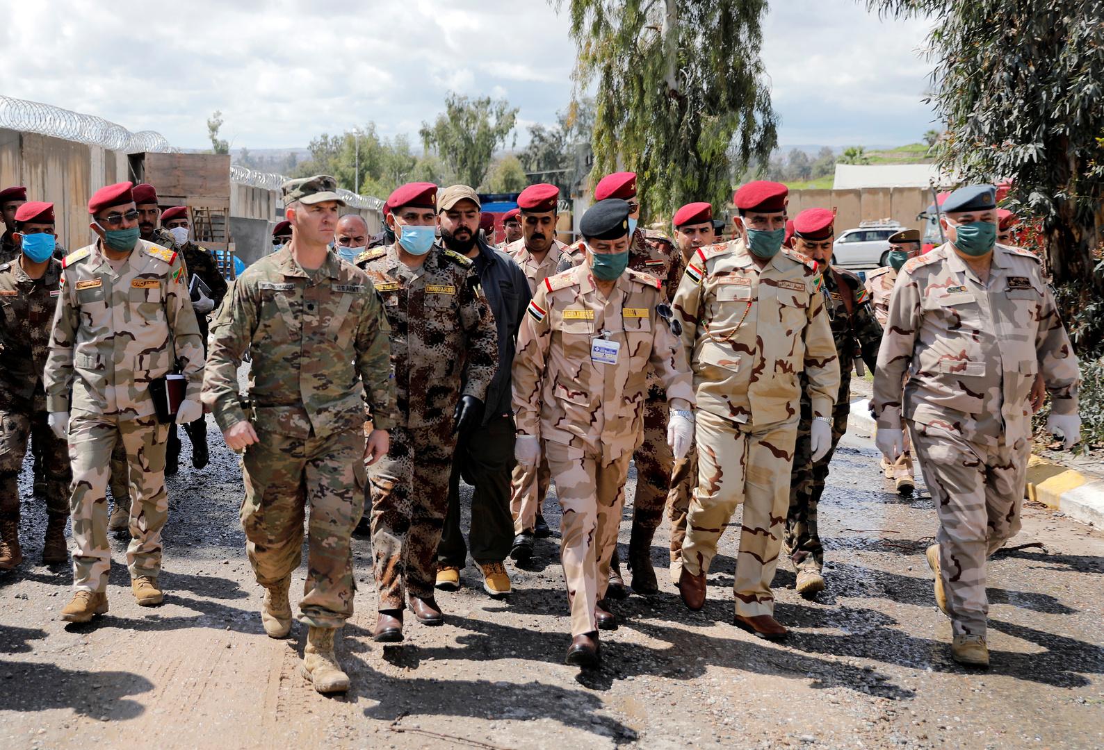 القوات الأمريكية والعراقية في العراق