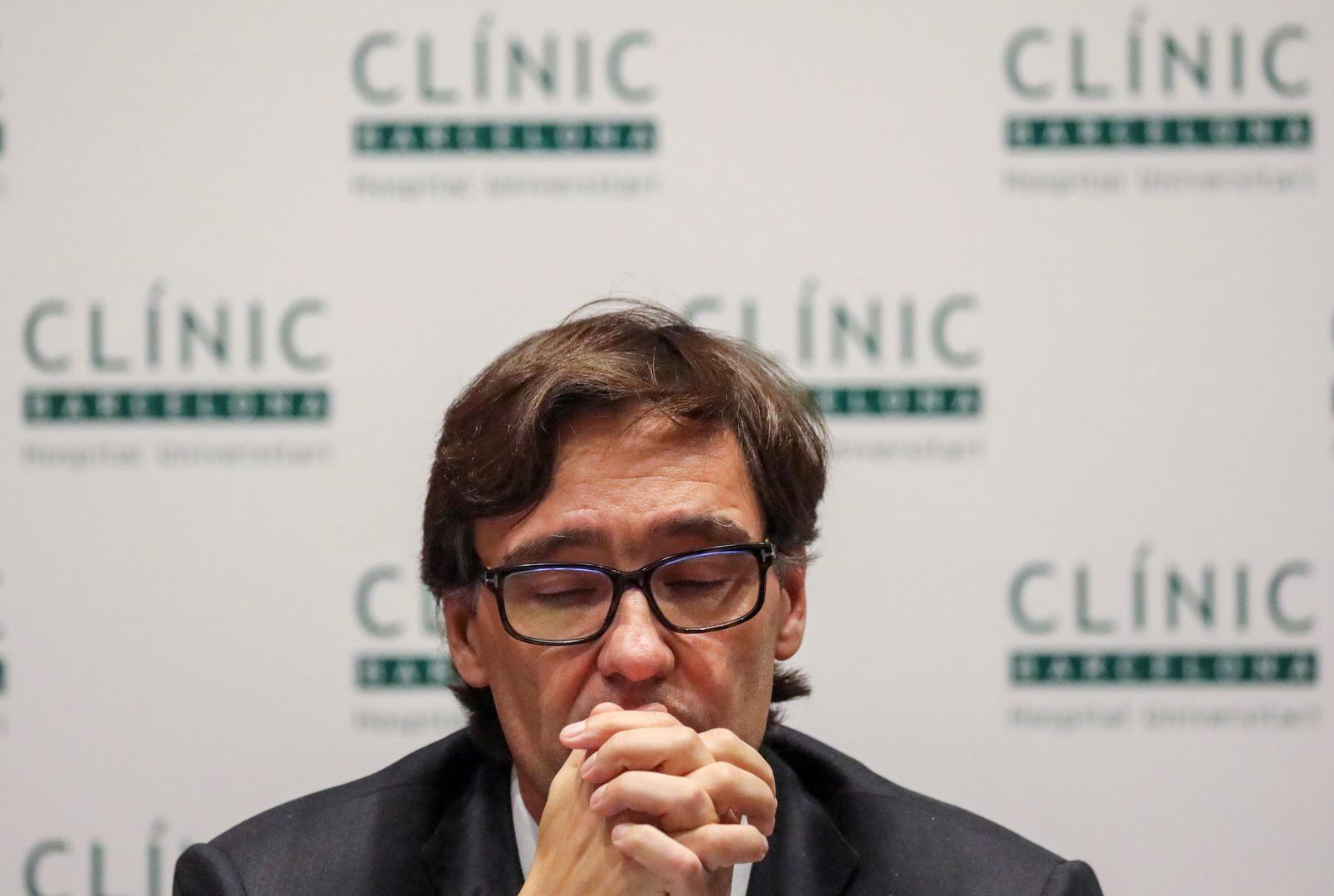 وزير الصحة الإسباني، سلفادور إيا